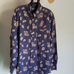 Vintage Dockers Long Sleeve Button Down- M